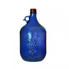 Бутылка «Лоза» 5 л, синяя