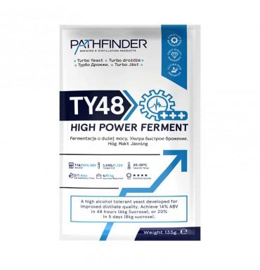 """Спиртовые дрожжи Pathfinder """"48 Turbo High Power Ferment"""", 135г"""