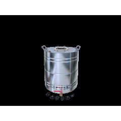 Бак матовый 40 литров с ребрами жесткости