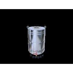 Бак матовый 50 литров с ребрами жесткости