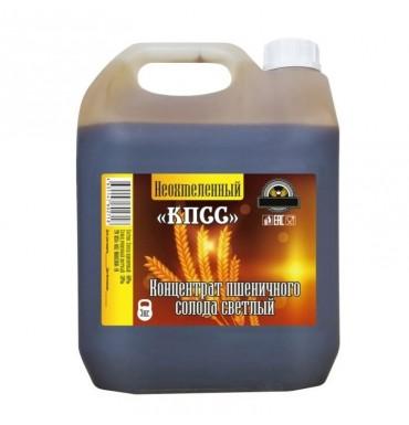 Солодовый концентрат «КПСС» пшеничный светлый, 5 кг